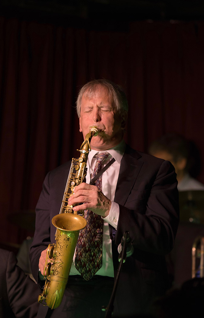 UTJO and 11 O'Clock Jazz Orchestra with Dick Oatts, saxophone