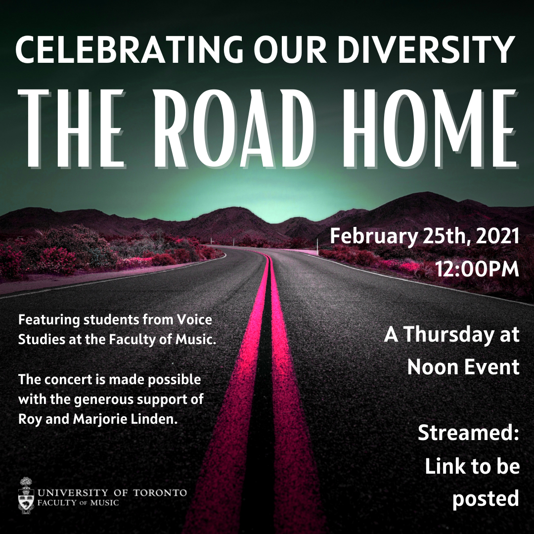 U of T Opera presents Spotlight on Diversity (online)