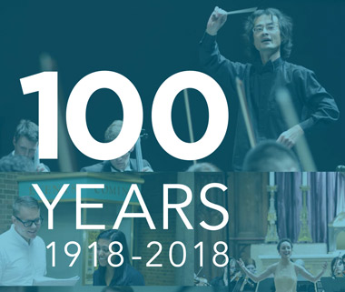 Announcing the Faculty of Music's 100th Anniversary Season of Events